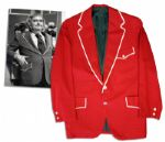 Iconic Captain Kangaroo Screen-worn Red Jacket From Its Debut in 1971