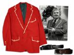 Captain Kangaroo Screen-Worn Iconic Costume From The First Year the Captain Wore Red