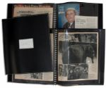 Four Scrapbooks Personally Owned by Captain Kangaroo 1969-1976