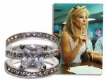 Sandra Bullock Screen-Worn Engagement & Wedding Rings From Oscar Winning The Blind Side -- The Role That Earned Bullock the Oscar