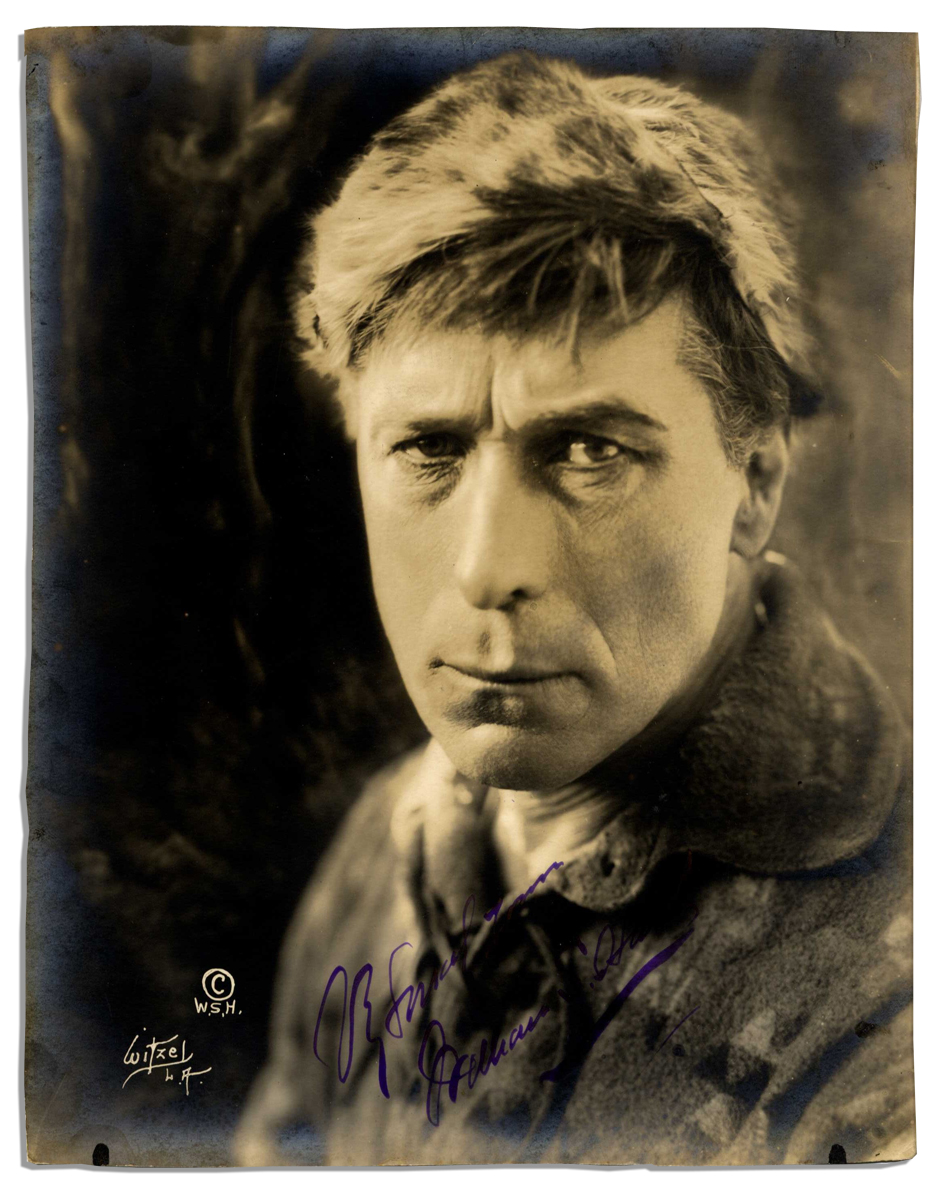 lot detail silent movie star william s hart signed photo