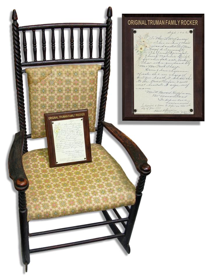 Harry Truman Memorabilia Harry Truman's Rocking Chair