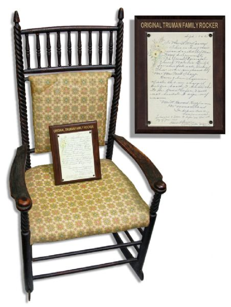 Harry Truman's Rocking Chair