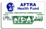 Milton Berles AFTRA Health Fund Card -- His Television Union