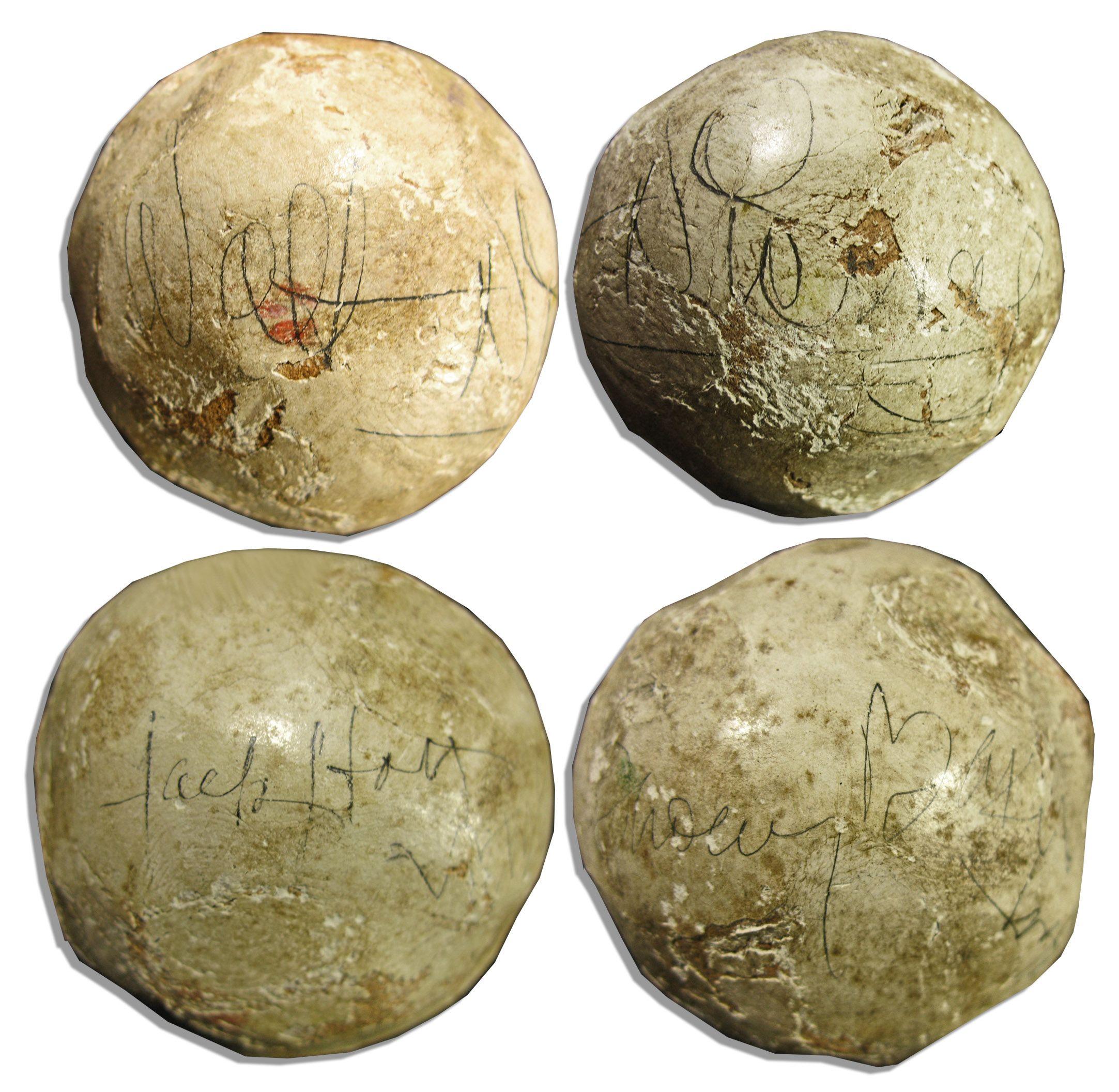 Game-used 1935 Polo Ball