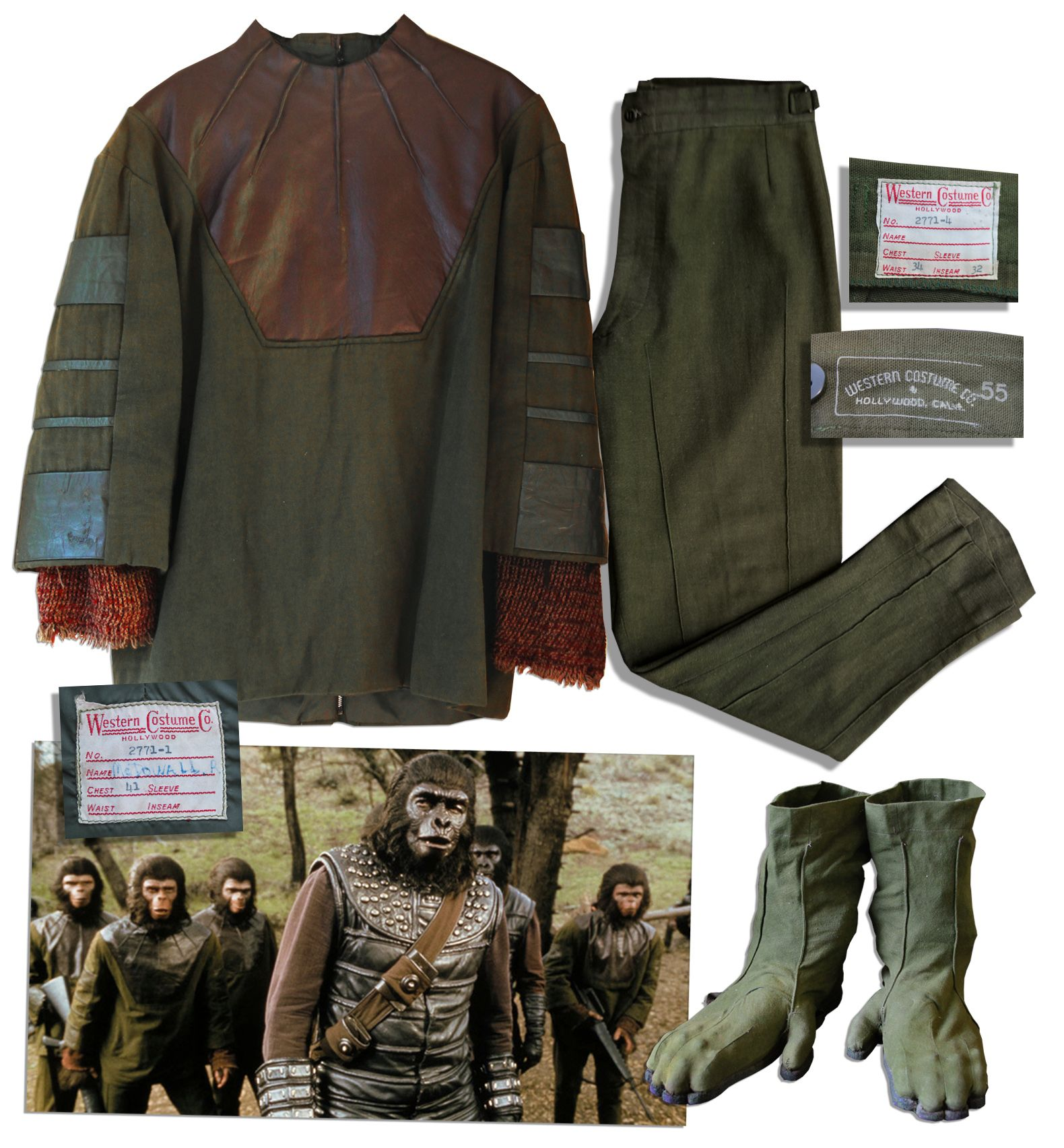Planet of the Apes Costume