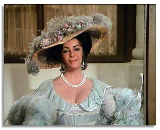 lot detail elizabeth taylor screenworn gown from the