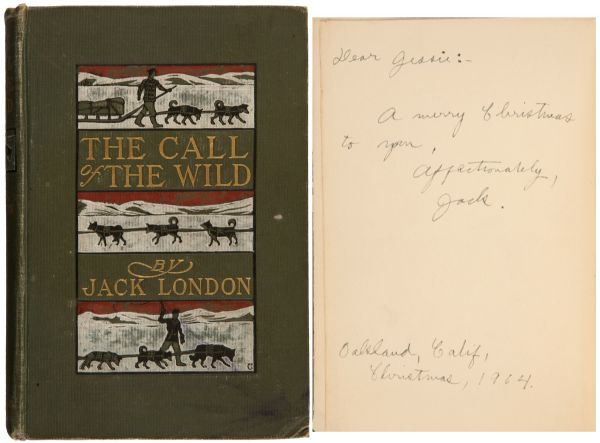 Jack London's ''Call of the Wild'' Signed