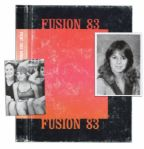 Underage Adult Film Star Traci Lords High School Yearbook -- Her Only Yearbook Appearance Before Dropping Out