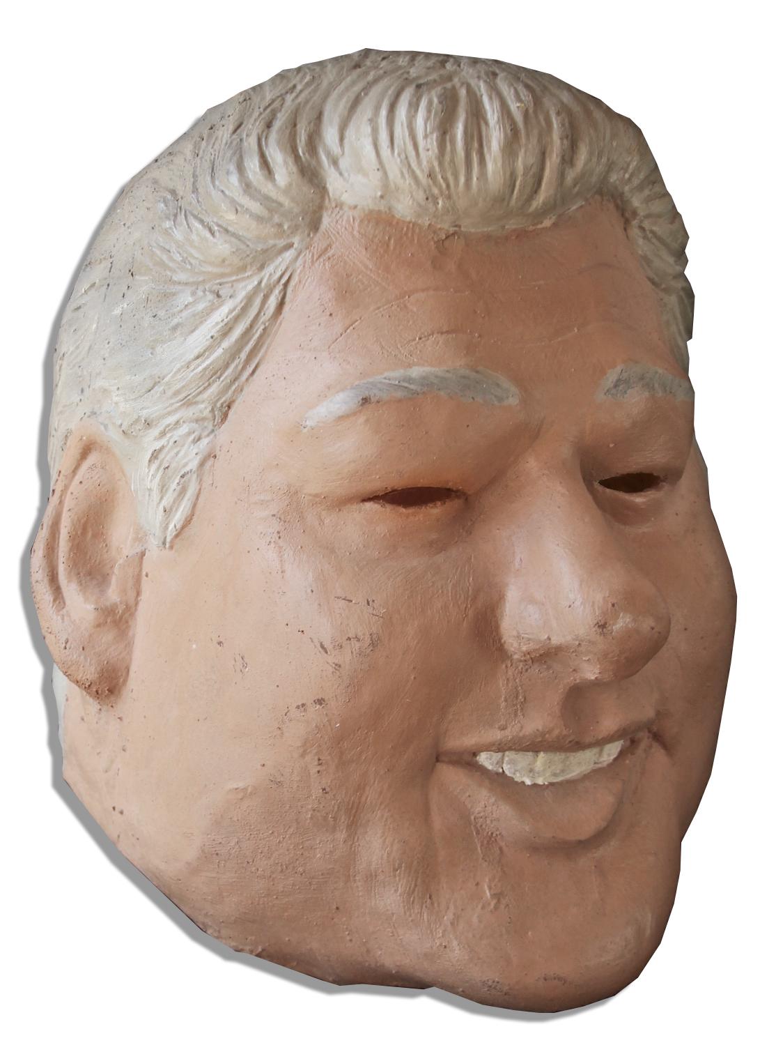 Lot Detail - Bill Clinton Mask Procured For Patrick ...