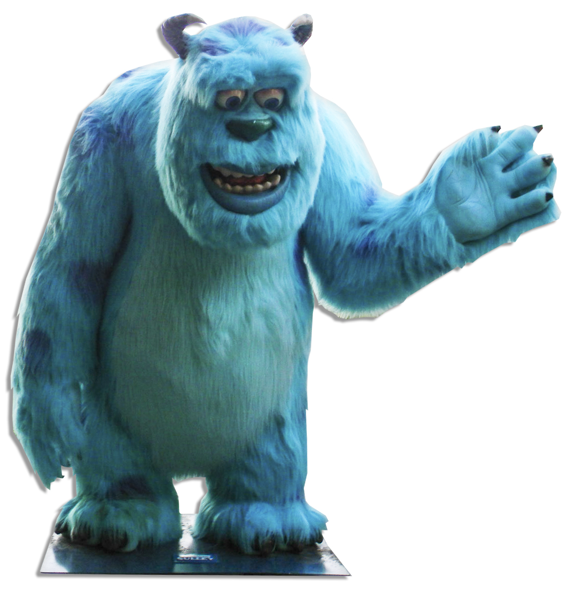 lot detail rare giant life size disney pixar character sully