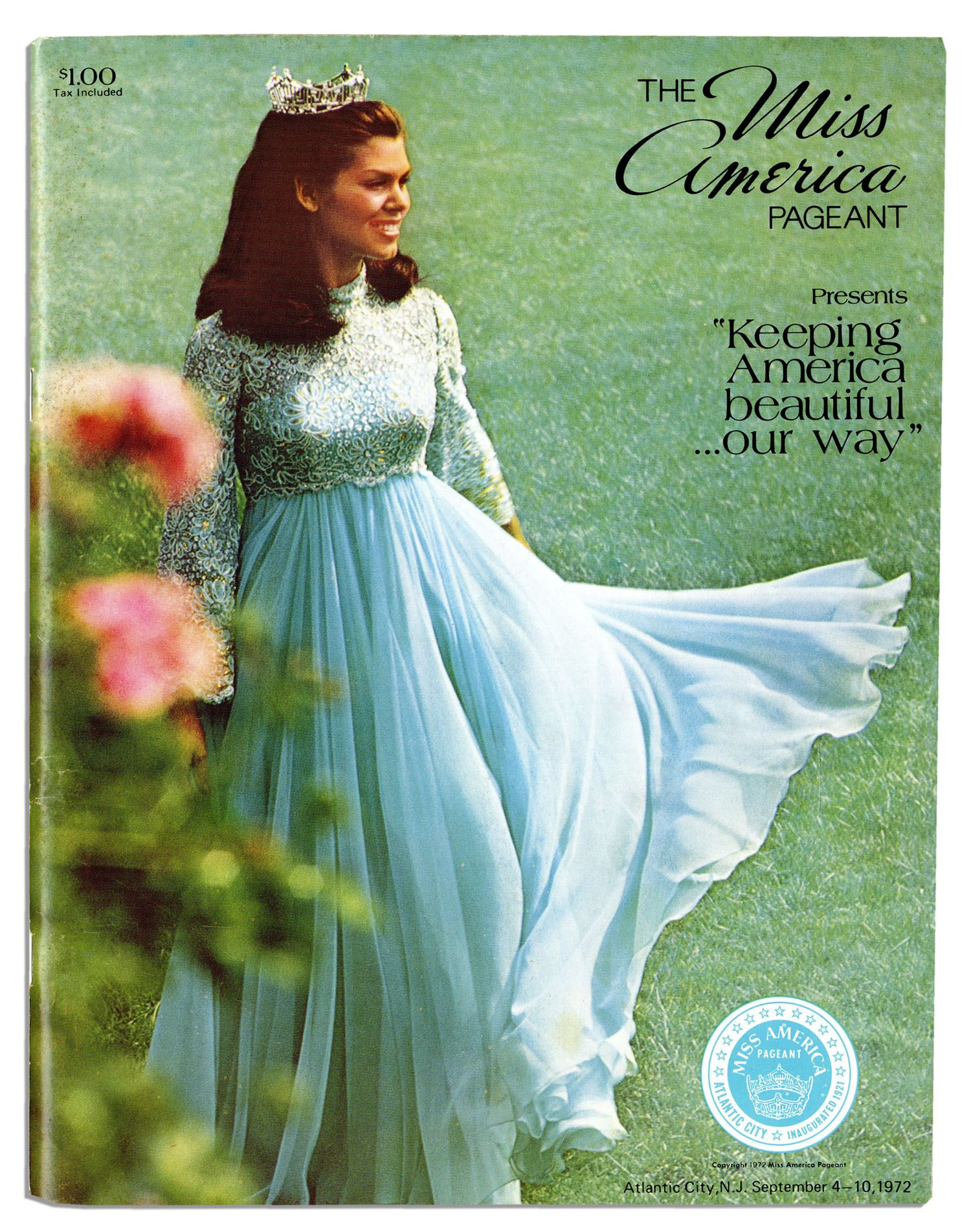 Lot Detail 1972 Miss America Pageant Program 64 Pages