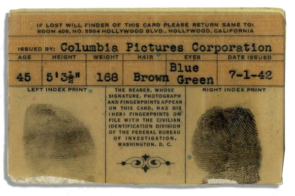 Moe Howard's Columbia Pictures ID