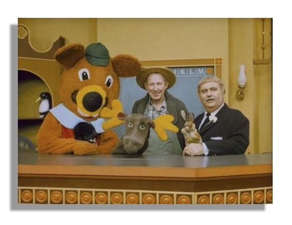 Original Captain Kangaroo's Bunny Rabbit & Mr. Moose Puppets Obtained Directly from Bob Keeshan