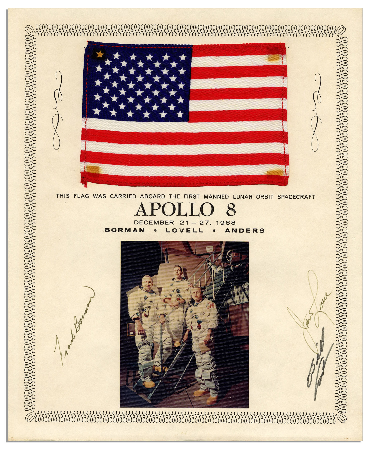 Apollo 8 Flown