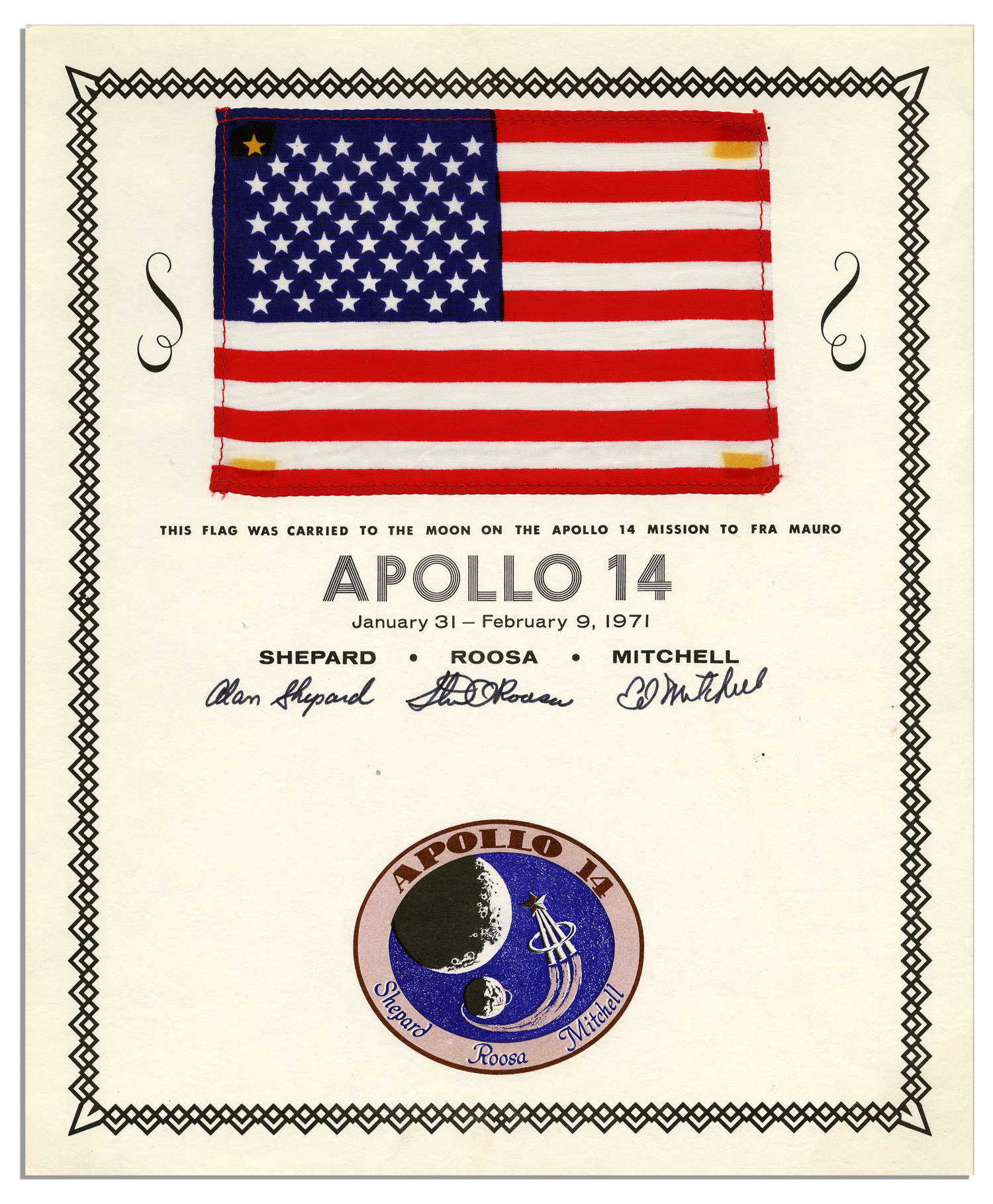 Apollo 14 Flown