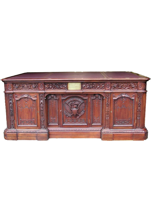 Lot Detail - White House Oval Office Resolute Desk