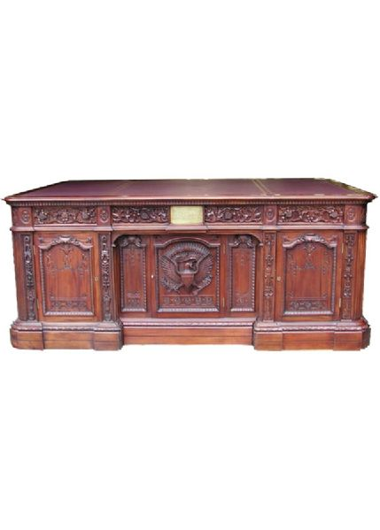 oval office resolute desk. White House Oval Office Resolute Desk