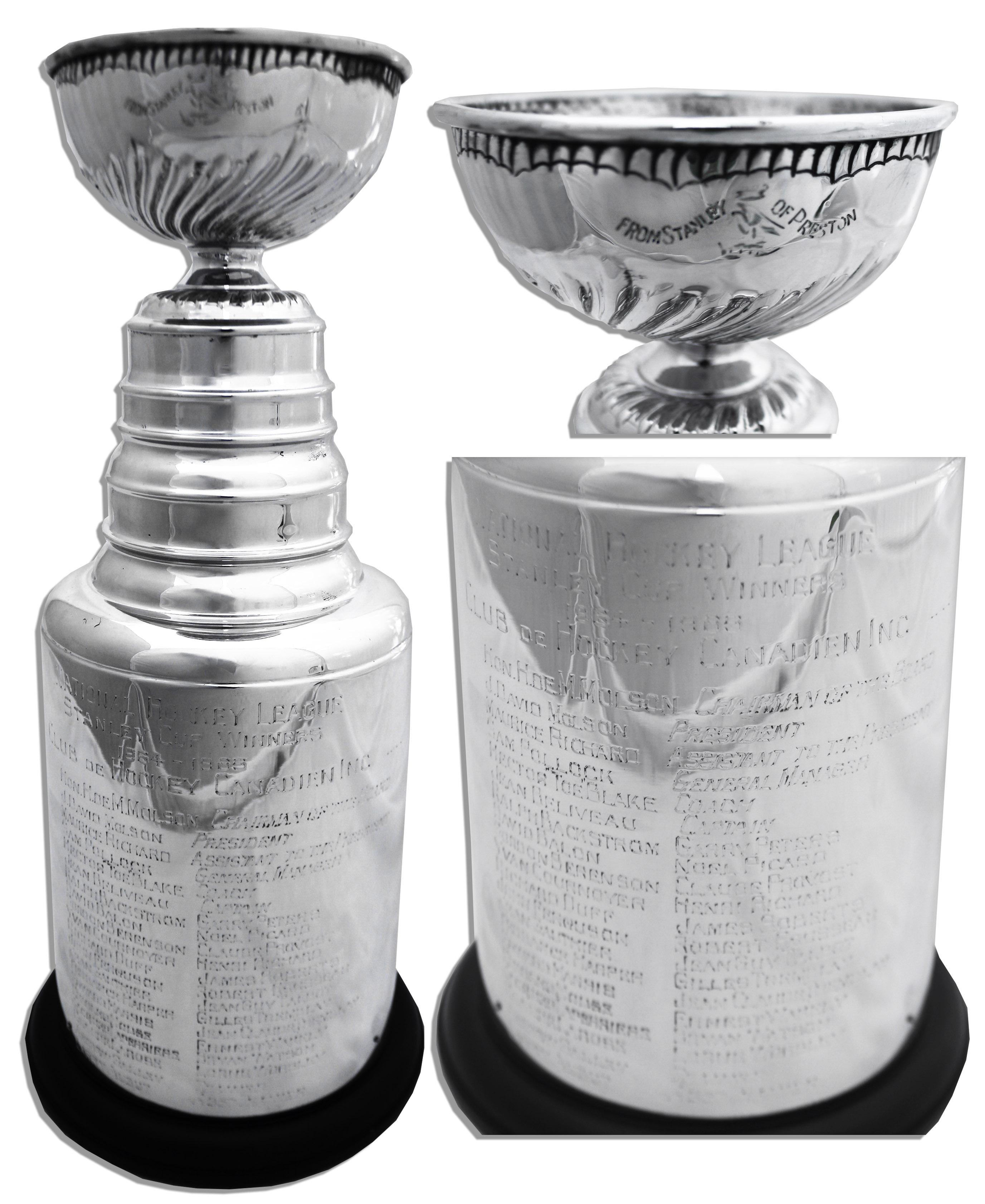 Miniature Stanley Cup trophy