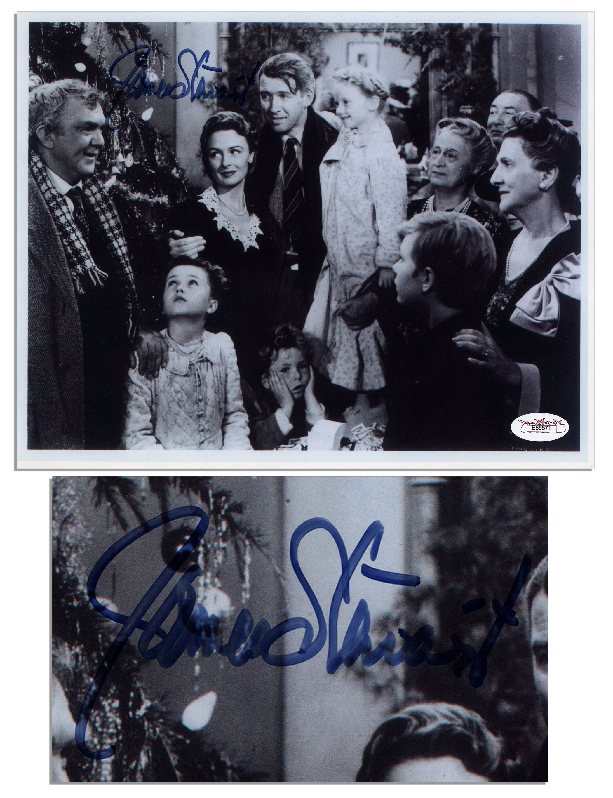 photo lettering editor lot detail jimmy stewart signed 10 x 8 photo from 23972