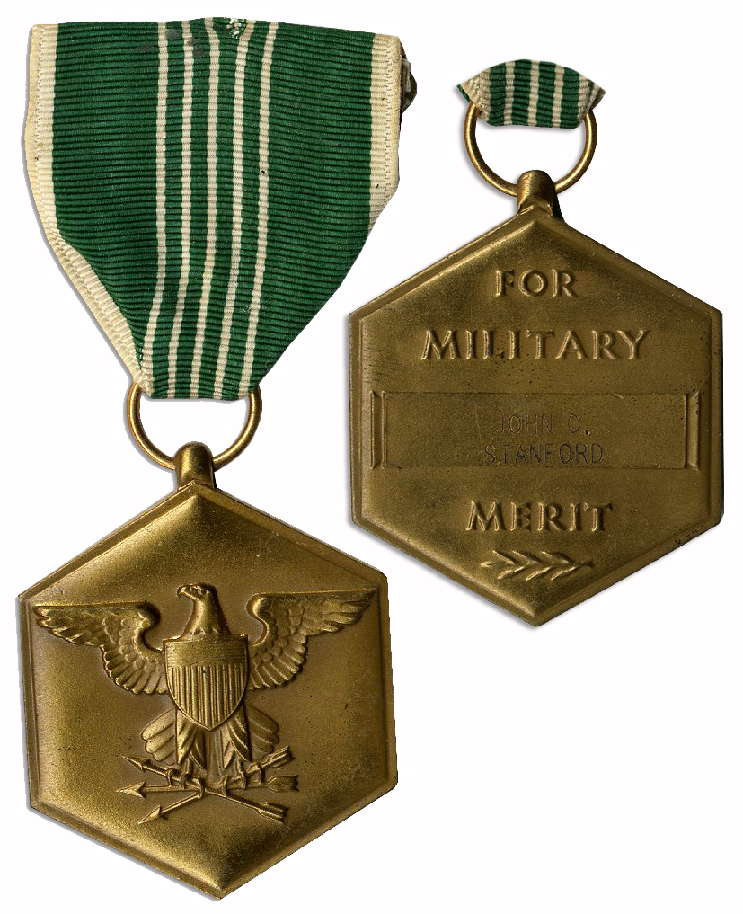 Lot Detail - Official Engraved Army Commendation Medal ...