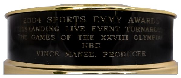 Sports Emmy Award From 2004 for NBC's Coverage of The Olympics -- In ...