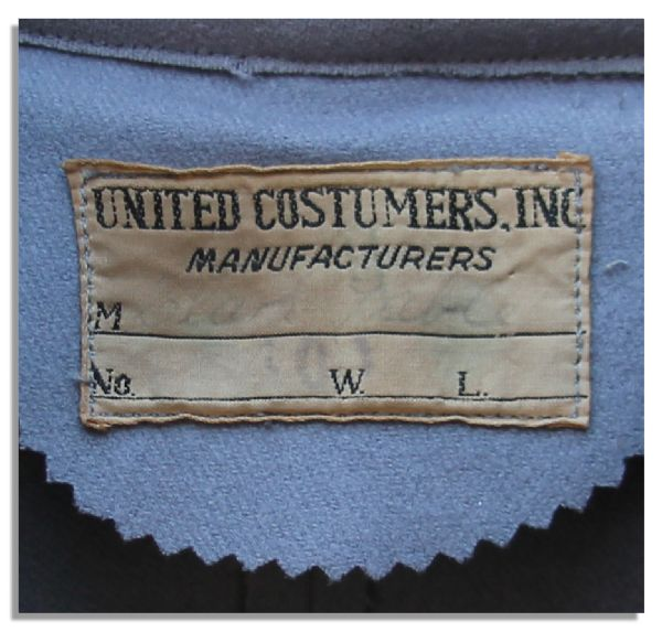 Cape Made for Clark Gable in ''Gone With The Wind'' by United Costumers of Hollywood
