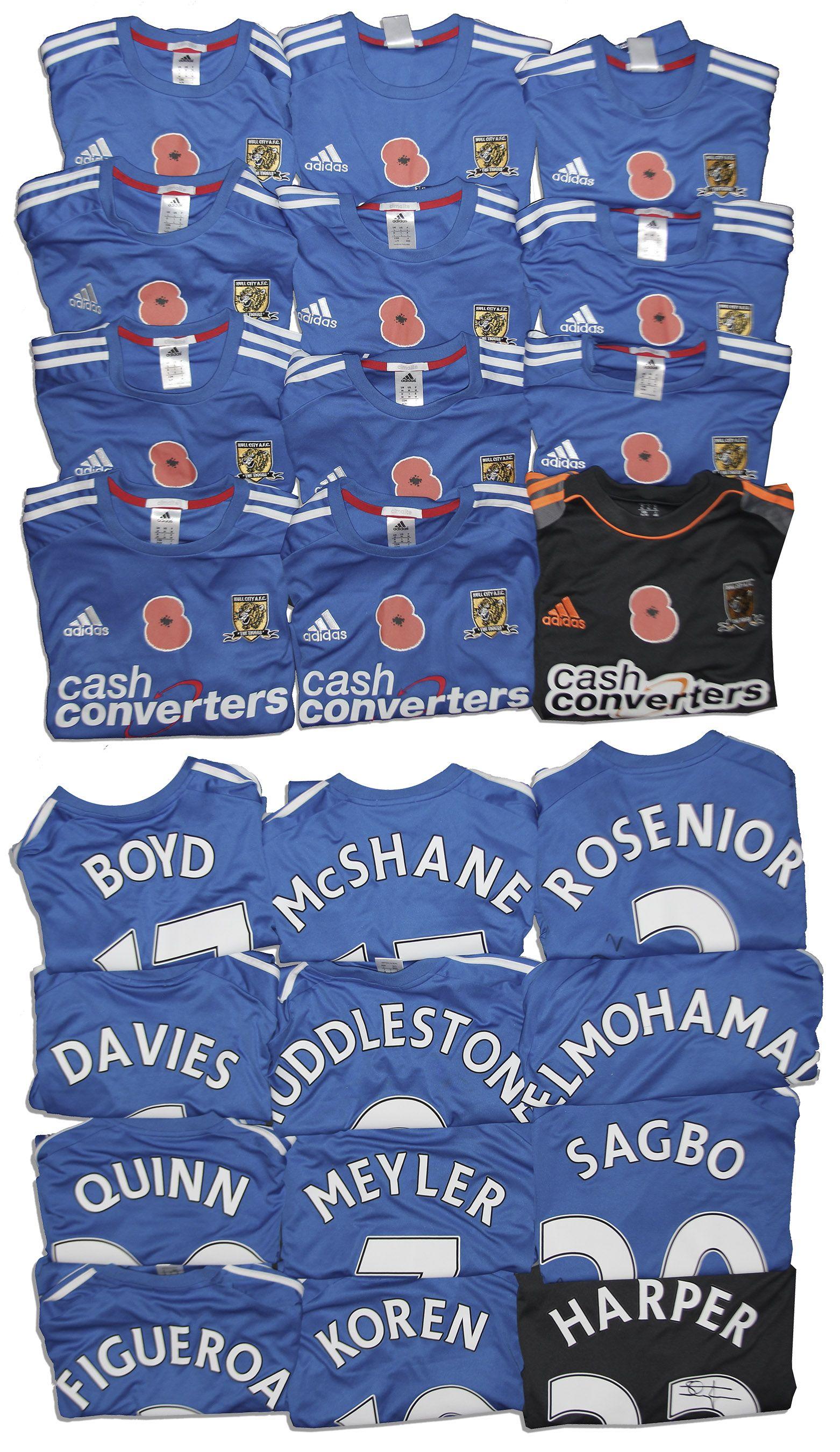 Lot Detail - Lot of 12 Hull City Jerseys Signed   Match-Worn -- Boyd ... 06f05c7bc