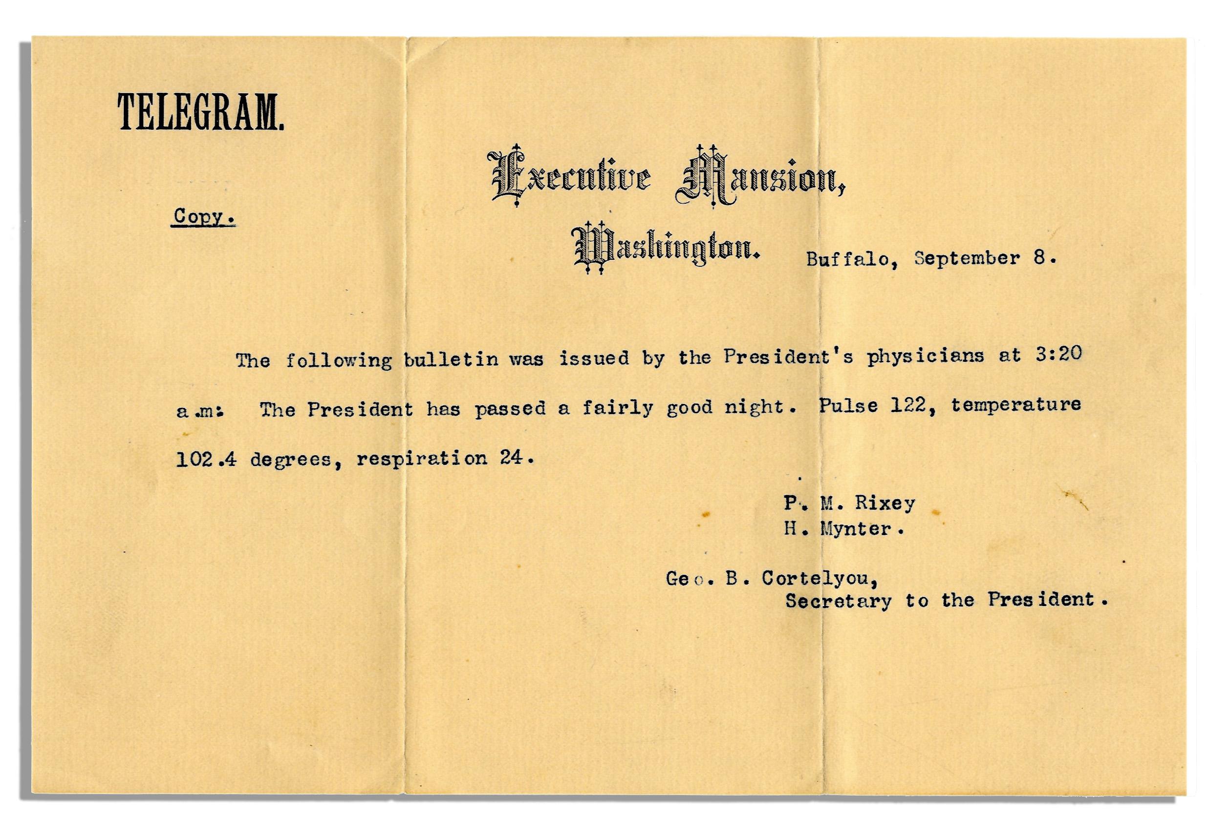 William McKinley memorabilia