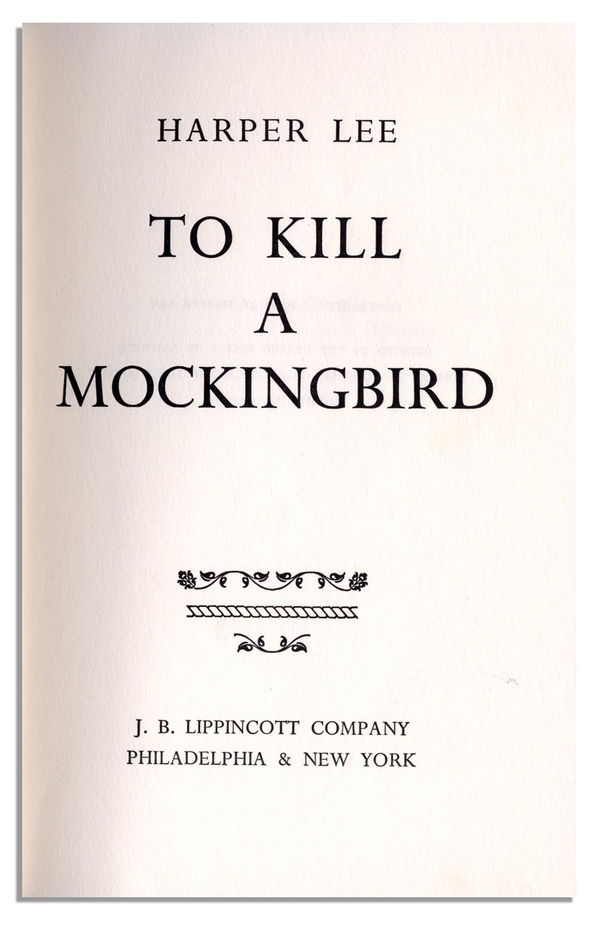 to kill a mocking bird letter Invited audience members will follow you as you navigate and present people invited to a presentation do not need a prezi account this link expires 10 minutes after you close the presentation.