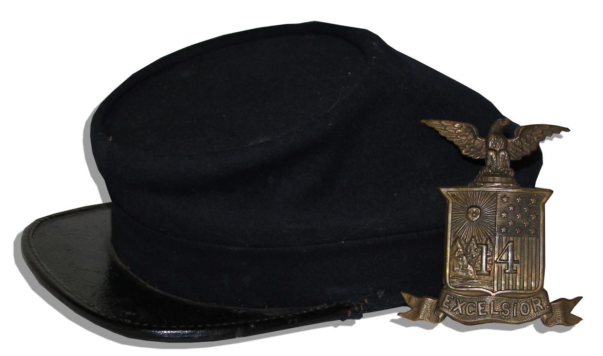 Civil War Union Cavalry Hat Civil War Kepi Hat Pin