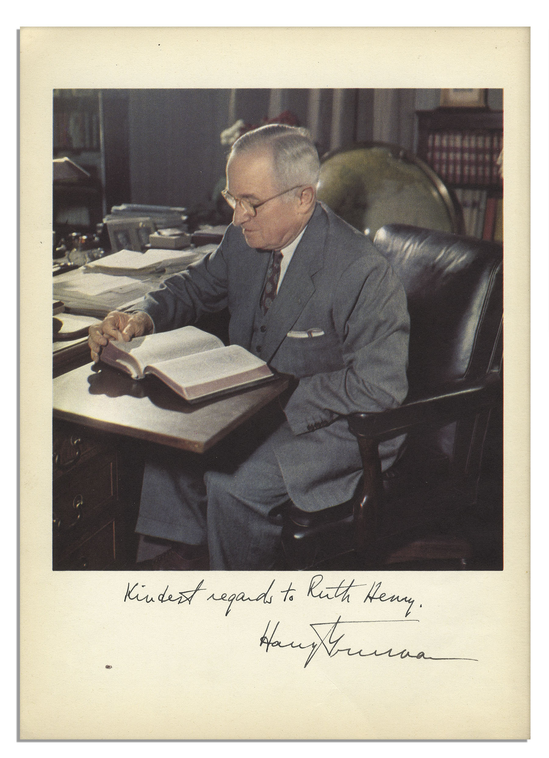 harry s truman the early years essay The truman library institute is the member-supported, nonprofit partner of the truman library, one of 13 presidential libraries of the national archives.