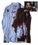 Bradley Cooper Screen-Worn Wardrobe From Limitless -- Heavily Distressed With Prop Blood