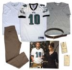 Bradley Cooper Screen-Worn Jersey Outfit From Silver Linings Playbook