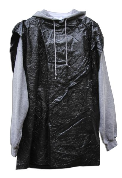 Bradley Cooper's Screen-Worn Trashbag Ensemble From ''Silver Linings Playbook'' -- Certainly the Most Memorable Costume of the Hit Film