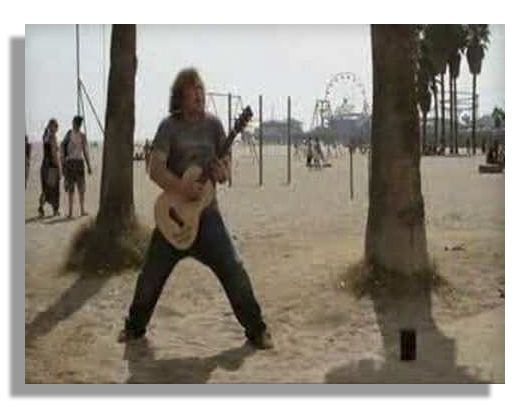 Jack Black's Rubber Stunt Guitar From ''Tenacious D in The Pick of Destiny''