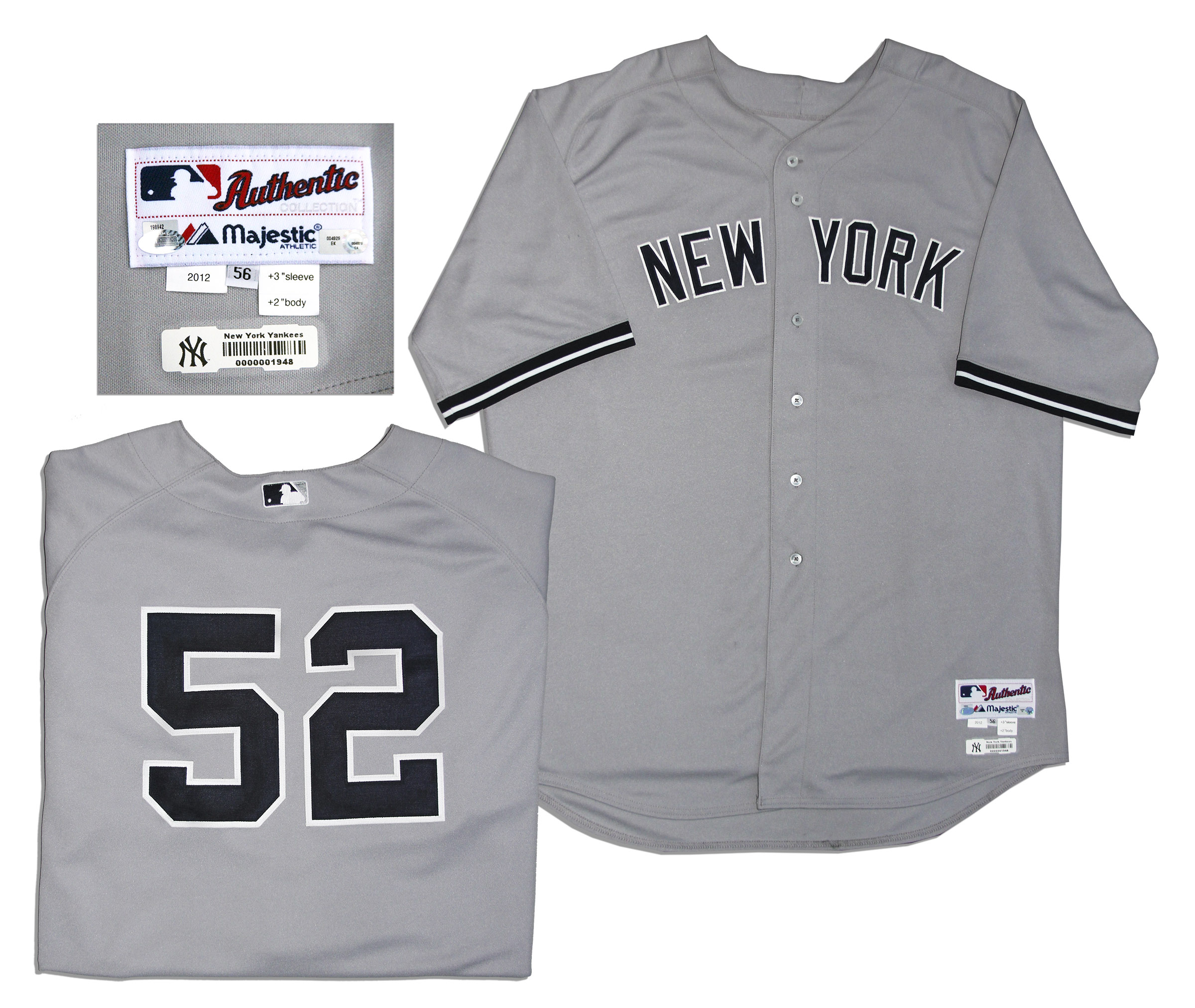 New York Yankees game worn jersey