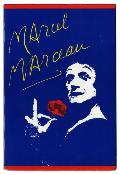 Marcel Marceau Autograph Letter Signed on His Personal Stationery Gifting a Hat to a Friend for Christmas -- With His Drawing of the Hat & the Actual Gifted Hat Included in the Lot