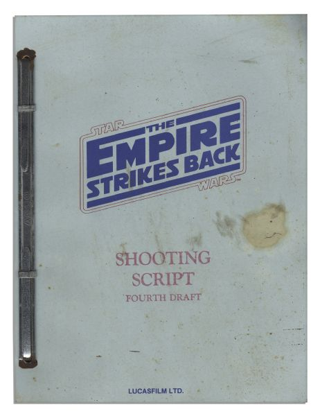 Shooting Script for Star Wars Episode V: The Empire Strikes Back From 1978 -- With the Red Coding Number on Every Page -- The Second Film Released in the Epic Series