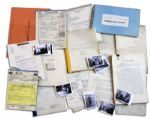 Peter Lawford Rat Pack Archive -- Documents for His Movie With Sammy Davis Jr., 63 Photos From the 1960s, Matchbooks & Legal Documents Related to Taxes & His Divorce From Patricia Kennedy