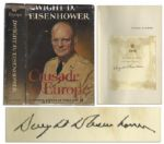 Dwight D. Eisenhower Crusade in Europe First Edition Signed