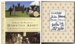 Downtown Abbey Signed Book & DVD Lot -- With Screen Actors Guild COA