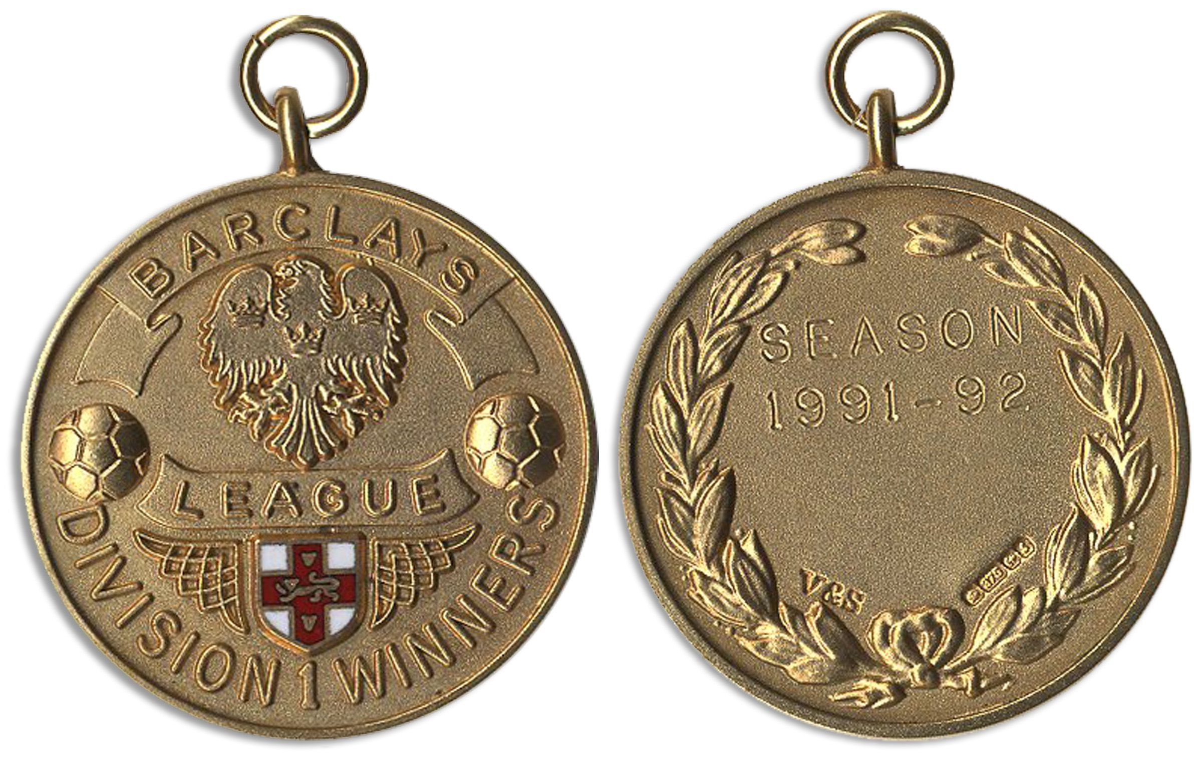 Lot Detail - Championship Gold Medal for the English ...