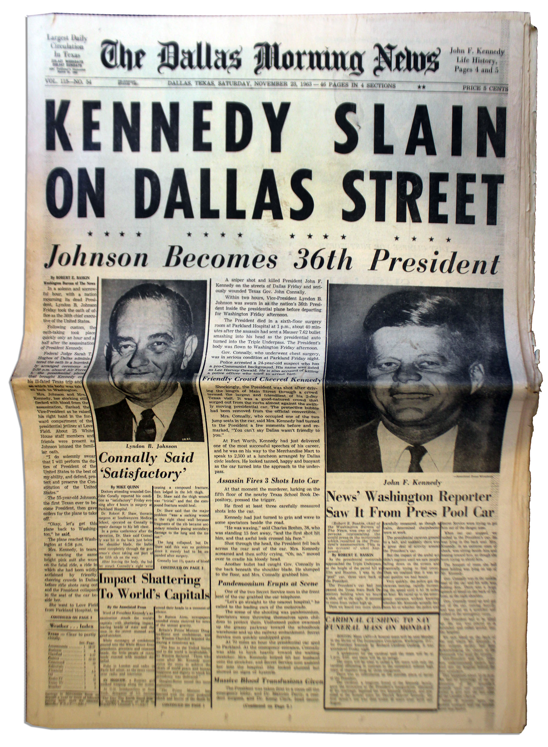 jfk assasination essay The assassination of john f kennedy is one of the most controversial and debated topics in american history jfk was one of the most beloved presidents of our time.