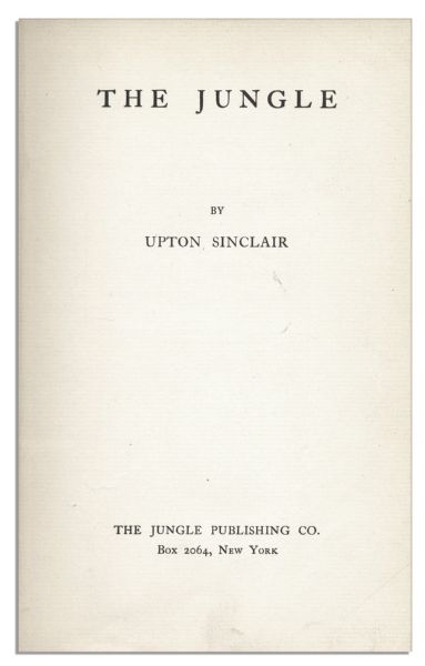 the jungle by upton sinclair letter The jungle - ebook written by upton sinclair preface perfect health a letter to the new york times some notes on fasting fasting and the doctors the humors of.