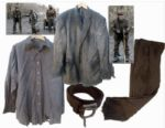 Robert Duvall Screen-Worn Tattered Wardrobe From Post-Apocalyptic Drama The Road
