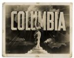 Columbia Pictures Trademark Photo Labeled new trade mark -- Circa 1936