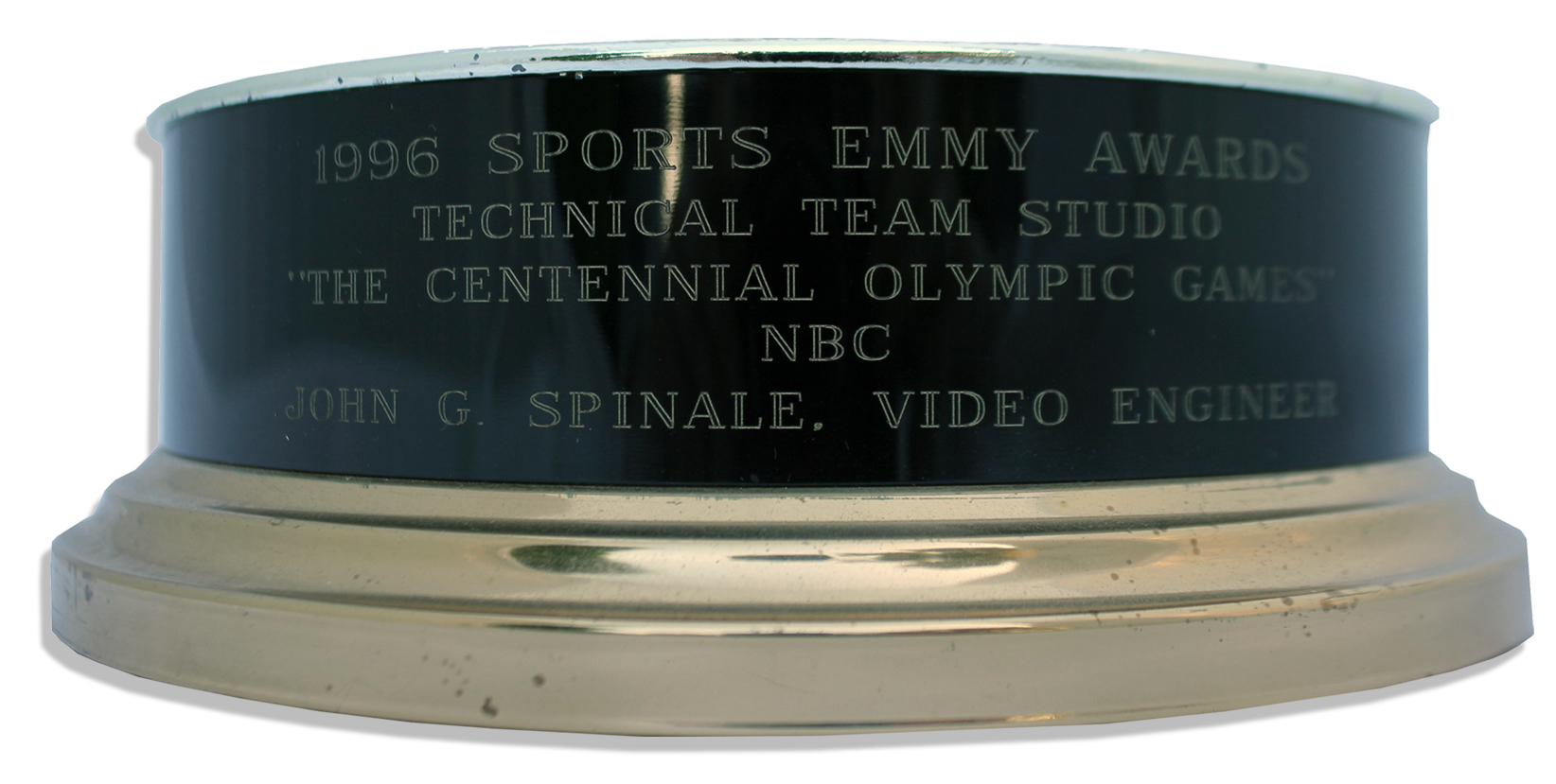 Lot Detail - 1996 Sports Emmy Award for NBC's Presentation of ''T...