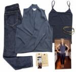 Jenna Elfman Screen-Worn Wardrobe Ensemble From 1600 Penn -- With Wardrobe Departments Tag, Photo of Elfman Dressed in The Wardrobe & COA from 20th Century Fox