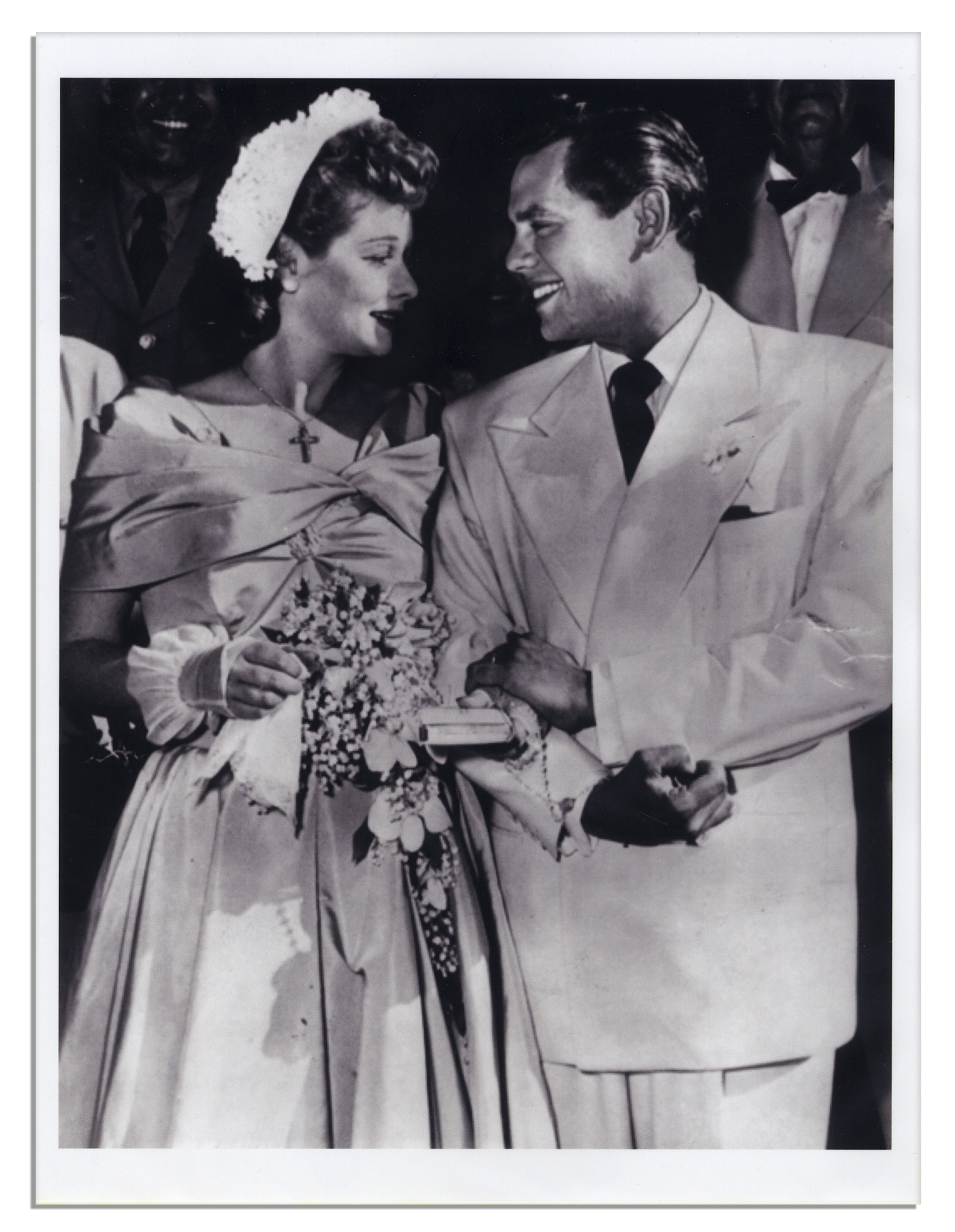 ... Lucille Ball Bridal Lot -- 5 Items From Her 1949 Church Wedding to Desi  Arnaz ...